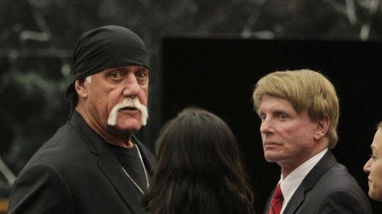 Hulk Hogan, whose given name is Terry Bollea,