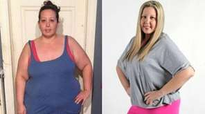 Weighing more than 300 pounds, Melanie Riggio, of
