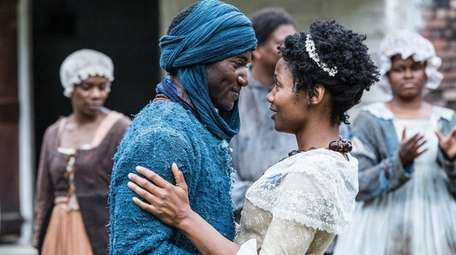 Malachi Kirby and Emayatzy Corinealdi star as Kunta
