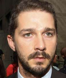 Shia LaBeouf is hitchhiking across America as a