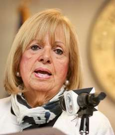 Islip Town Supervisor Angie Carpenter delivers her State