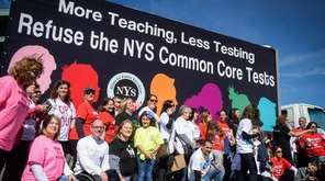 Parents and teachers opposed to Common Core state