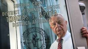 Suffolk County District Attorney Thomas Spota at his