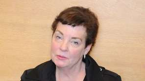 Sharon Argenzio, shown above during a break in