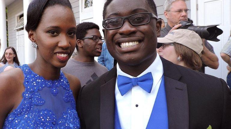 Sarah Uwandori, a Stony Brook School senior from