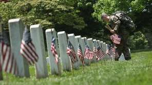A member of the 3rd U.S. Infantry Regiment,
