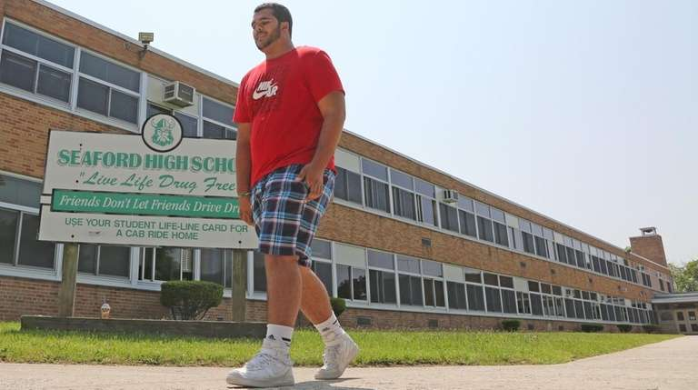Nico Fiorello, seen at Seaford High School on
