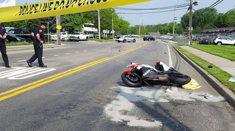 A motorcyclist was seriously injured Friday, May 27,