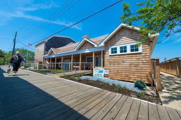 The historic Cherry Grove Community House reopened Saturday,