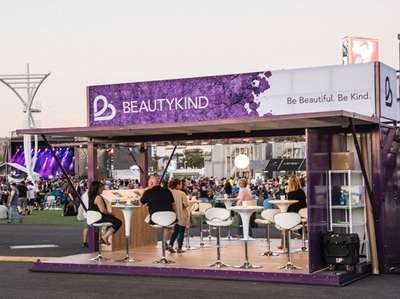 A BeautyKind pop-up at the Academy of Country