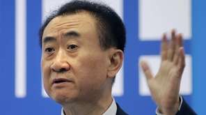 Wang Jianlin, chairman of Wanda Group, says his