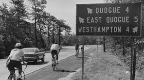 On July 22, 1972, the Suffolk Bicycle Riders