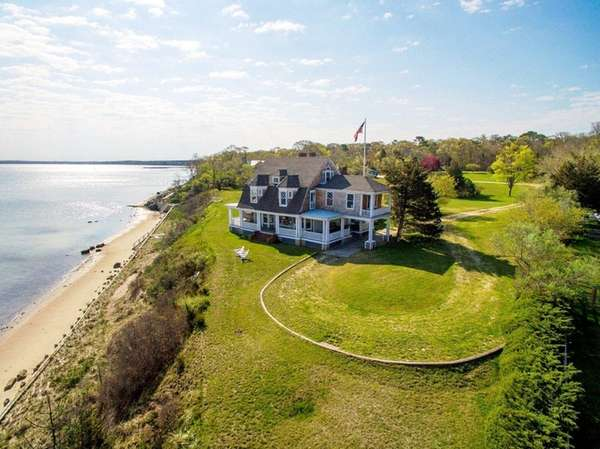 This Hampton Bays property was featured in the