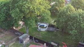 A 2-year-old girl drowned in an above-ground pool