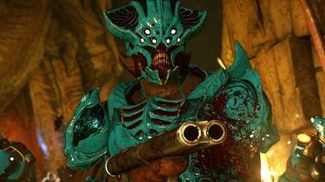Doom pushes players to quickly and efficiently eliminate