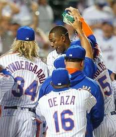 Curtis Granderson #3 of the New York Mets