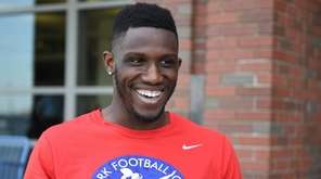 Wide receiver Anthony Dable at the New York