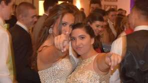 Students hit the dance floor at the Mattituck