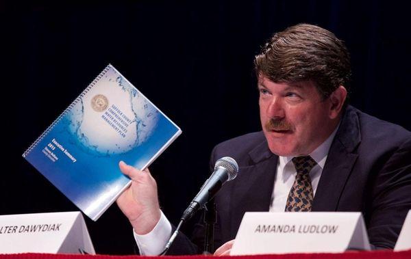 Walter Dawydiak, director of the Suffolk County health