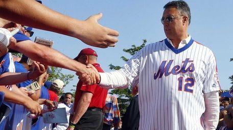 1986 Mets Alumni Ron Darling arrives for a