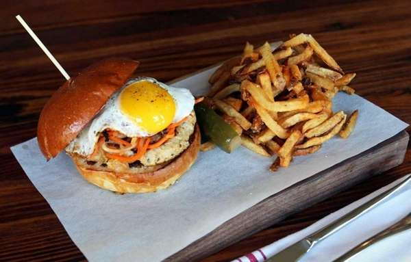 A burger at Hush Bistro may be on