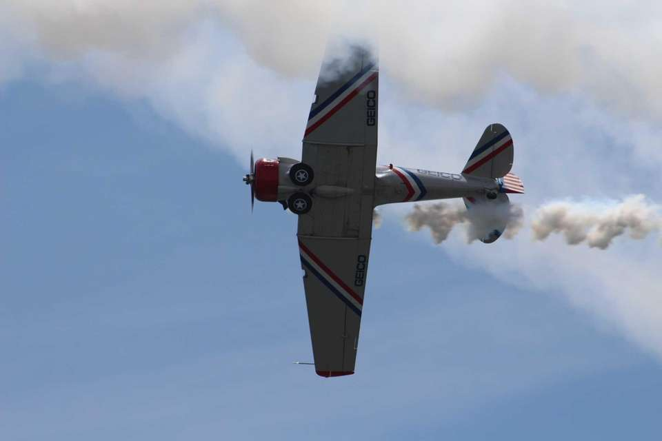 Airshow at Jones Beach on Sunday, May 29,