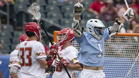 Luke Goldstock (1) of the North Carolina Tar