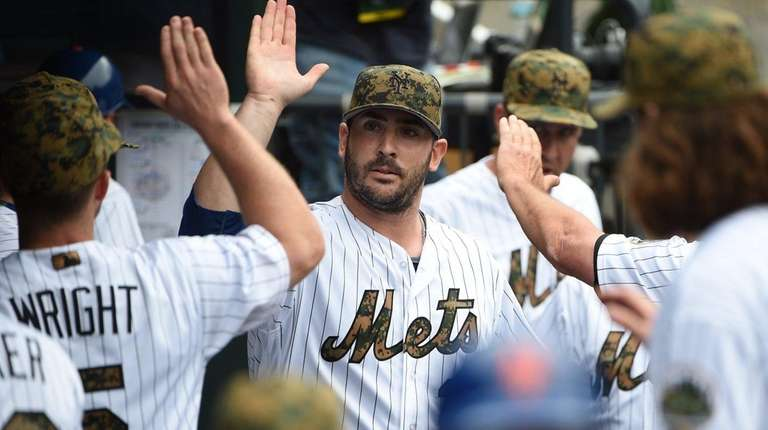 New York Mets starting pitcher Matt Harvey is