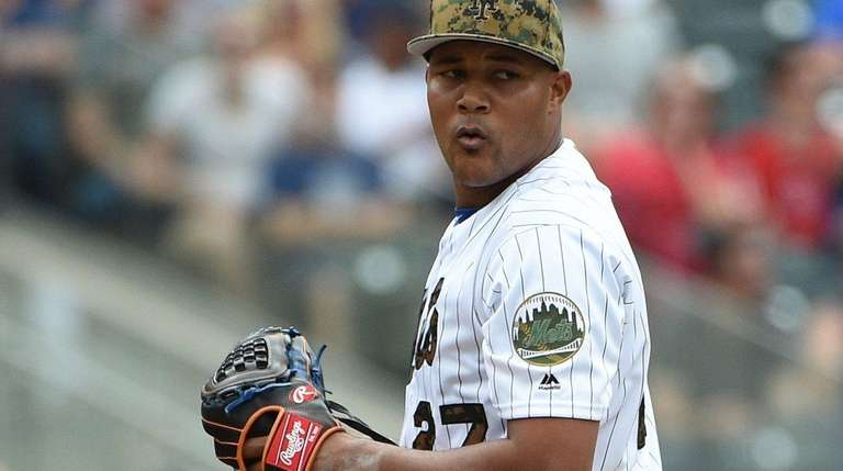 New York Mets relief pitcher Jeurys Familia earned
