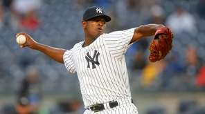 Luis Severino #40 of the New York Yankees
