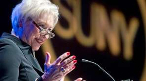 SUNY Chancellor Nancy Zimpher says she plans to