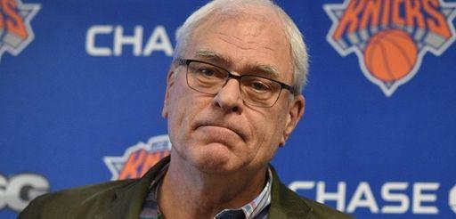 New York Knicks president Phil Jackson began his