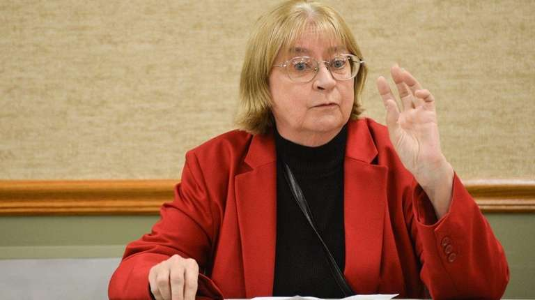 Barbara Donovan, former mayor and current mayoral candiate