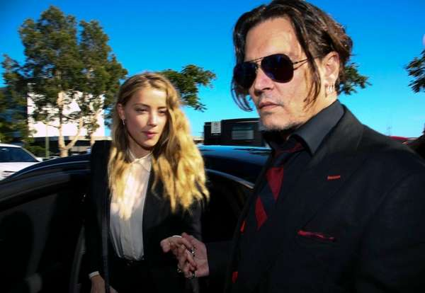 Amber Heard has reported estranged husband's Johnny Depp's