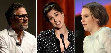 Mark Ruffalo, Sarah Silverman and Lena Dunham are