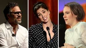 Mark Ruffalo, Sarah Silverman and Lena Dunham are