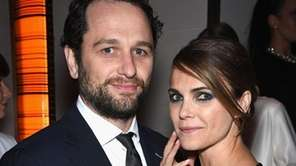 Matthew Rhys and Keri Russell, who play a