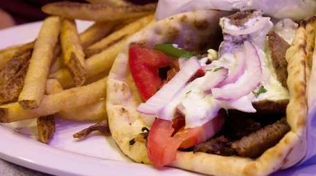 Serving gyros, Greek homestyle dishes, Neapolitan pizza and