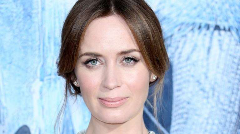 Actress Emily Blunt, shown here at the premiere
