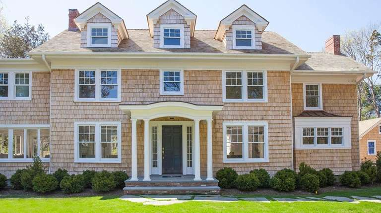 This renovated Bellport house, built in 1923, has