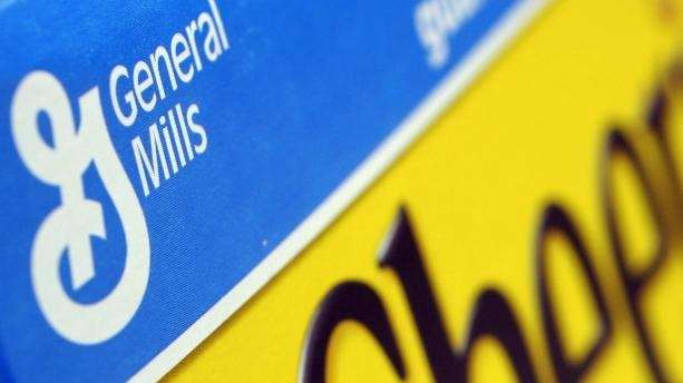 A box of General Mills' Cheerios is seen