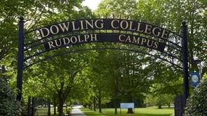 Dowling College, shown above on May 23, 2016,