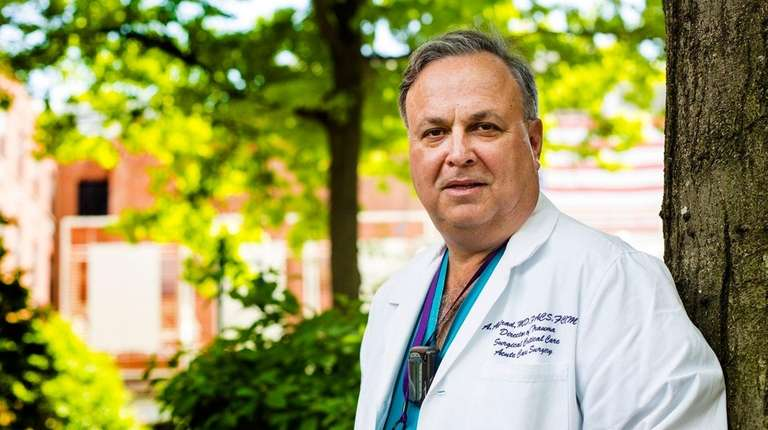 Dr. Alexander Axelrad of Winthrop-University Hospital in Mineola