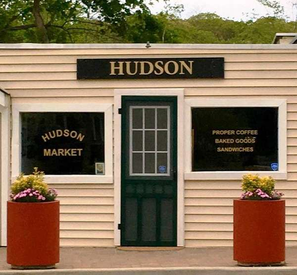 Anthony Coates' Hudson Market in Wading River serves