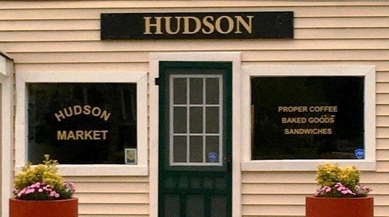 Anthony Coates' Hudson Market in Wading River serves