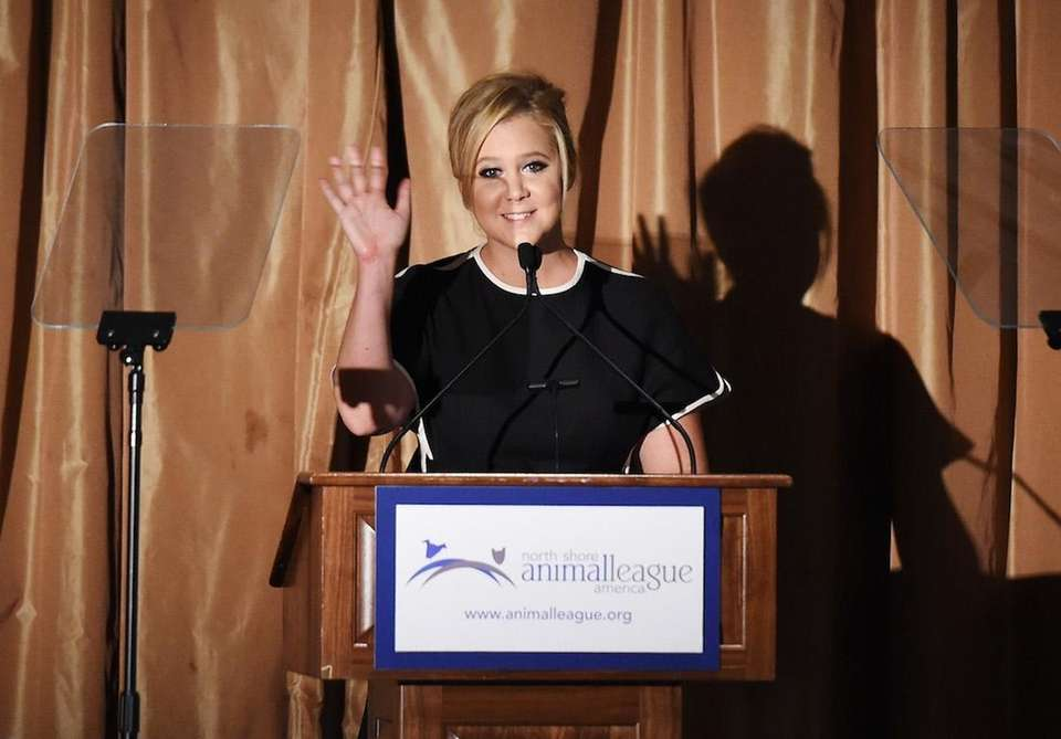 Amy Schumer speaks at the 2015 North Shore