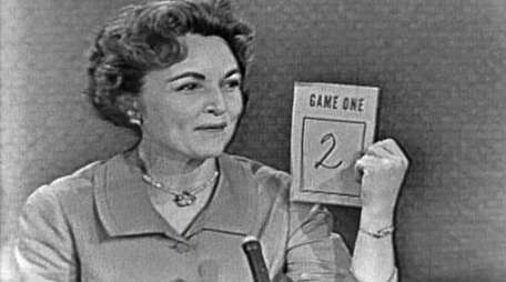 Betty White began appearing on TV game shows