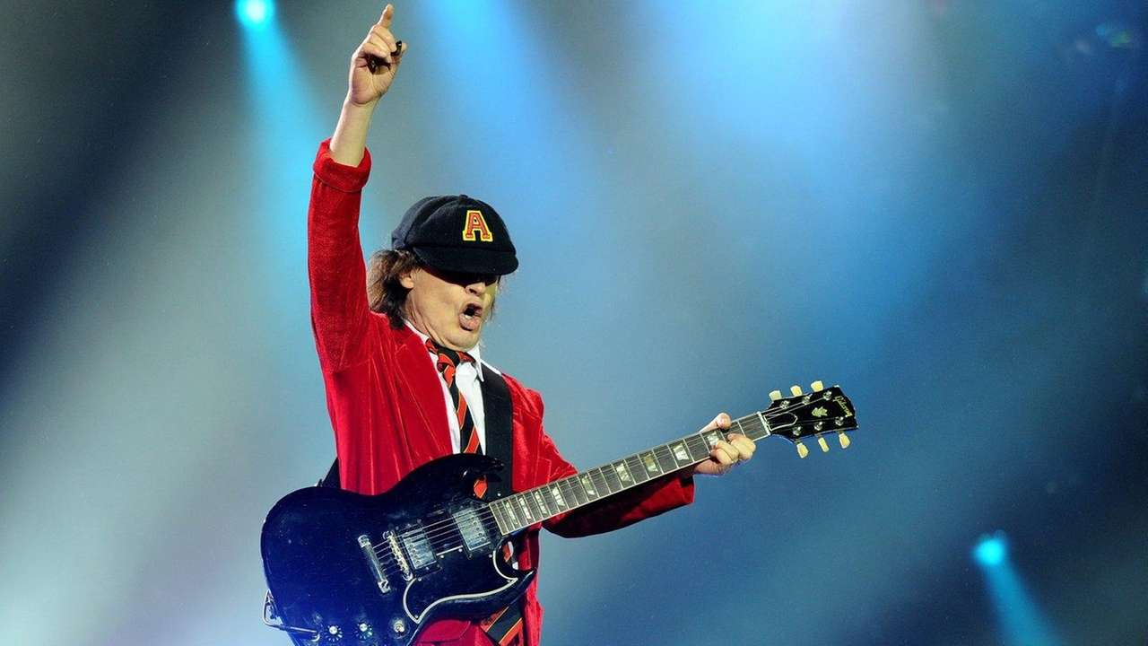 AC/DC guitarist Angus Young is eager to get