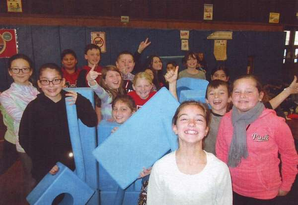Meredith Marin's fourth-grade class enjoys playing with Imagination