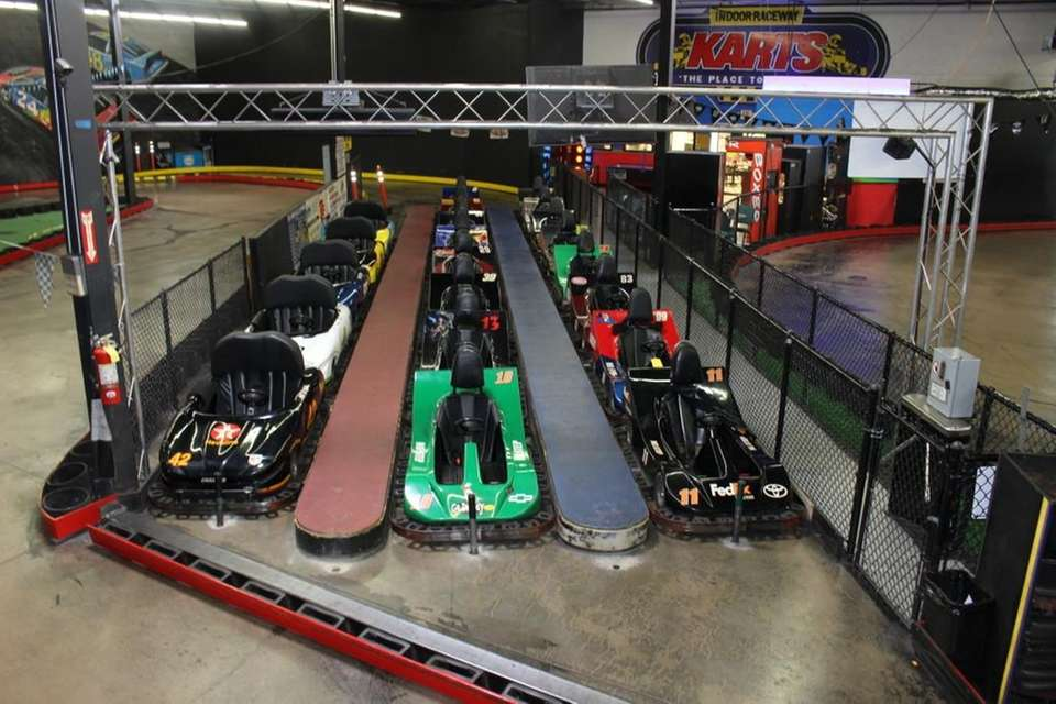Dads can indulge their inner child at Karts
